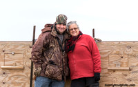 Bob & Karen (we sat in the box @ Buena Vista Grassl in Wisc to view Greater Prairie Chickens 4-2015