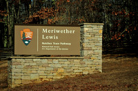 Natchez Trace Parkway National Monument, Meriwether Lewis burial site, MS 2014