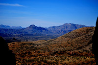 David looked out the 'window' 2 miles @ Chisos Mtns, Big Bend NP, TX 2-12-14 SEP_9261